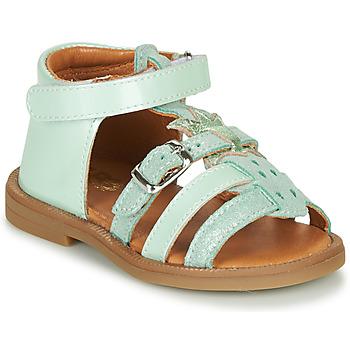 Cipők Lány Szandálok / Saruk GBB CARETTE Zöld