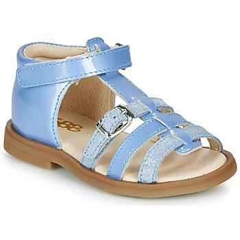 Cipők Lány Szandálok / Saruk GBB ANTIGA Kék