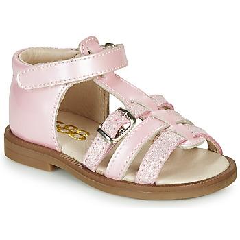 Cipők Lány Szandálok / Saruk GBB ANTIGA Rózsaszín