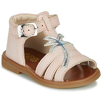 Cipők Lány Szandálok / Saruk GBB ARAGA Rózsaszín