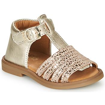 Cipők Lány Szandálok / Saruk GBB ATECA Arany