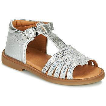 Cipők Lány Szandálok / Saruk GBB ATECA Ezüst