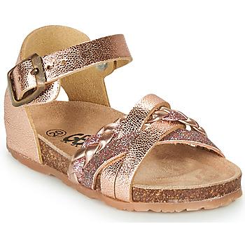 Cipők Lány Szandálok / Saruk GBB ALECTA Rózsaszín / Arany