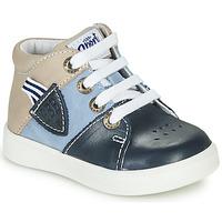 Cipők Fiú Magas szárú edzőcipők GBB AMOS Kék