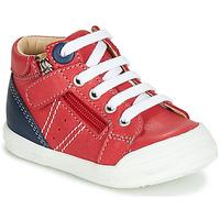Cipők Fiú Magas szárú edzőcipők GBB ANATOLE Piros