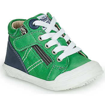 Cipők Fiú Magas szárú edzőcipők GBB ANATOLE Zöld