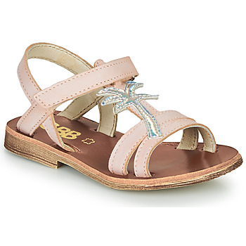 Cipők Lány Szandálok / Saruk GBB SAPELA Rózsaszín