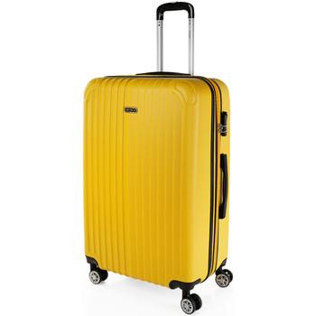 Táskák Keményfedeles bőröndök Itaca Sevron között Mustár