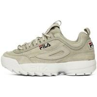 Cipők Női Rövid szárú edzőcipők Fila Disruptor S Low Wmn Szare