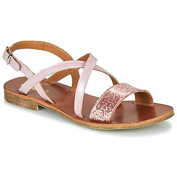 Cipők Lány Szandálok / Saruk GBB FAVOLA Rózsaszín