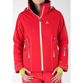 Ruhák Női Széldzseki Salomon Kurtka narciarska  Whitecliff GTX 374720 czerwony