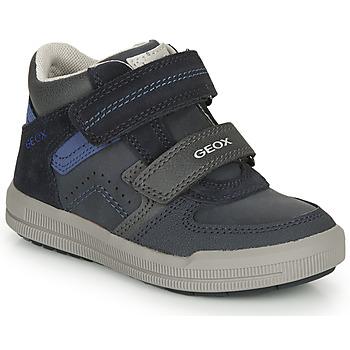 Cipők Fiú Rövid szárú edzőcipők Geox ARZACH M Tengerész