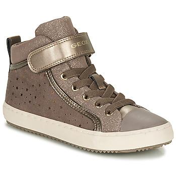 Cipők Lány Rövid szárú edzőcipők Geox KALISPERE Bézs