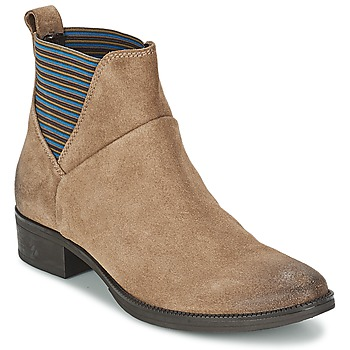 Cipők Női Csizmák Geox MENDI ST D Bézs