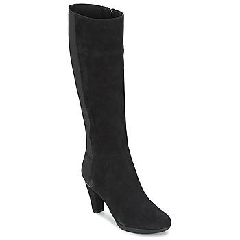 Cipők Női Városi csizmák Geox INSPIRAT ST C Fekete