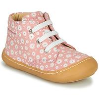 Cipők Lány Magas szárú edzőcipők GBB ATARINA Rózsaszín
