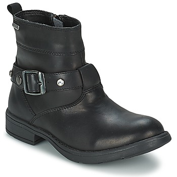 Cipők Lány Városi csizmák Geox SOFIA B Fekete