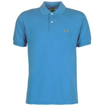 Ruhák Férfi Rövid ujjú galléros pólók Lacoste POLO L12 12 REGULAR Kék