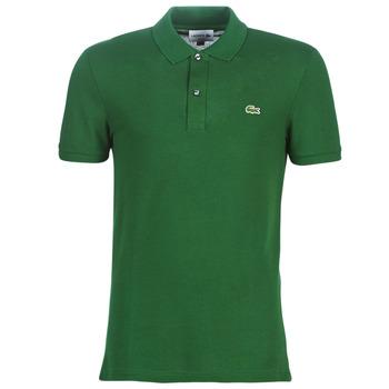Ruhák Férfi Rövid ujjú galléros pólók Lacoste PH4012 SLIM Zöld
