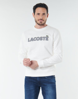 Ruhák Férfi Pulóverek Lacoste SH8632 Fehér