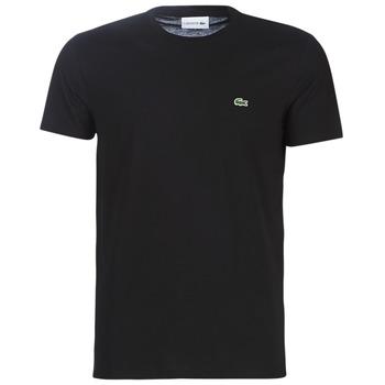 Ruhák Férfi Rövid ujjú pólók Lacoste TH6709 Fekete
