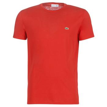 Ruhák Férfi Rövid ujjú pólók Lacoste TH6709 Piros