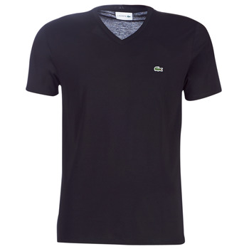 Ruhák Férfi Rövid ujjú pólók Lacoste TH6710 Fekete