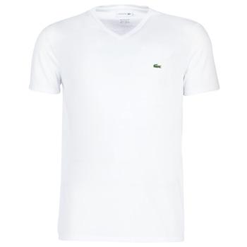 Ruhák Férfi Rövid ujjú pólók Lacoste TH6710 Fehér