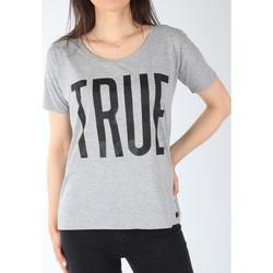 Ruhák Női Rövid ujjú pólók Lee T-shirt  Ultimate Tee L42JEP37 szary