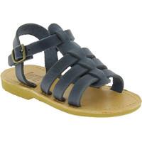 Cipők Fiú Szandálok / Saruk Attica Sandals PERSEPHONE NUBUCK BLUE blu