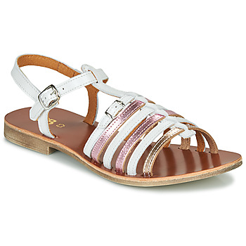 Cipők Lány Szandálok / Saruk GBB BANGKOK Fehér