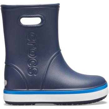 Cipők Gyerek Gumicsizmák Crocs Crocs™ Crocband Rain Boot Kid's Navy/Bright Cobalt