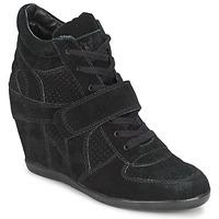 Cipők Női Magas szárú edzőcipők Ash BOWIE Fekete