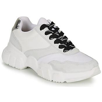Cipők Női Rövid szárú edzőcipők André BABETTE Fehér