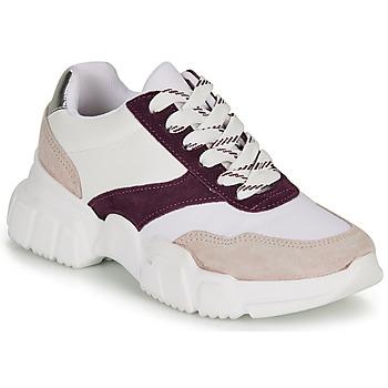 Cipők Női Rövid szárú edzőcipők André BABETTE Rózsaszín