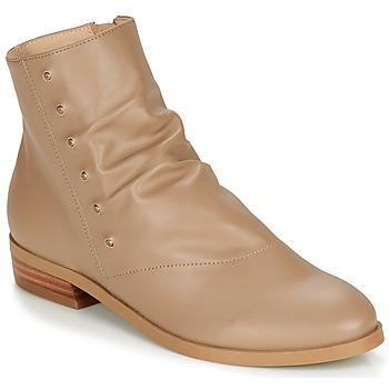 Cipők Női Csizmák André ELIPSE Teve