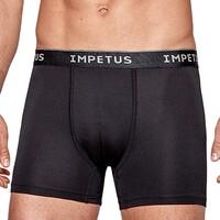 Fehérnemű Férfi Boxerek Impetus 1200G45 020 Fekete