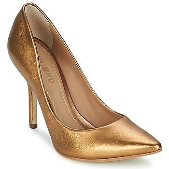 Cipők Női Félcipők Dumond MESTICO Bronz