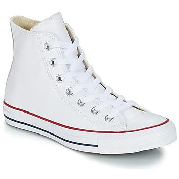 Cipők Magas szárú edzőcipők Converse Chuck Taylor All Star CORE LEATHER HI Fehér