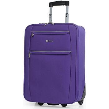 Táskák Puha bőröndök Itaca Cassley között Lila