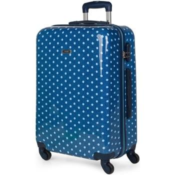 Táskák Keményfedeles bőröndök Skpat Topos között Középkék