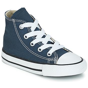 Cipők Gyerek Magas szárú edzőcipők Converse CHUCK TAYLOR ALL STAR CORE HI Tengerész