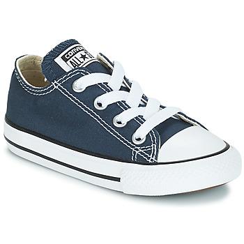 Cipők Gyerek Rövid szárú edzőcipők Converse CHUCK TAYLOR ALL STAR CORE OX Tengerész
