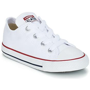 Cipők Gyerek Rövid szárú edzőcipők Converse CHUCK TAYLOR ALL STAR CORE OX Fehér / Optikai