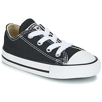 Cipők Gyerek Rövid szárú edzőcipők Converse CHUCK TAYLOR ALL STAR CORE OX Fekete