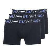 Fehérnemű Férfi Boxerek DIM X-TEMP BOXER x3 Fekete