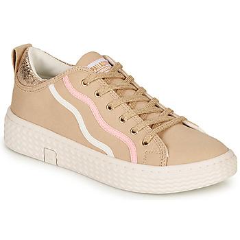 Cipők Női Rövid szárú edzőcipők Palladium TEMPO 02 CVS Bézs