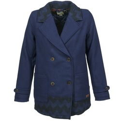 Ruhák Női Kabátok Roxy MOONLIGHT JACKET Tengerész / Fekete