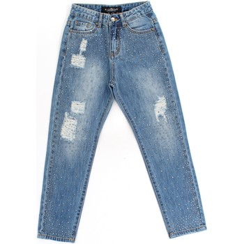 Ruhák Lány Skinny farmerek Richmond Kids RGA19295JE Blue Denim