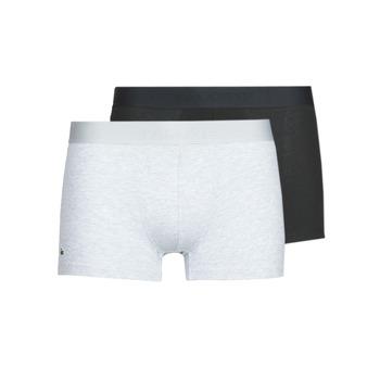 Fehérnemű Férfi Boxerek Lacoste 5H3378-SNP Fekete  / Szürke / Tarka